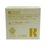 Тонер-картридж для ricoh aficio color 2003/2103/2203 type h (т,100,желт) (o)