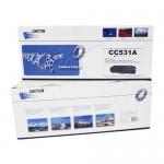 Картридж для hp color lj cp 2025/cm 2320 cc531a (304а)/ canon lbp-7200 cartridge 718c син (2,8k) uniton premium