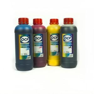 OCP BKP, CP, MP, YP 230 4 штуки 1000 гр. - чернила (краска) для картриджей Canon PIXMA: PGI-1400, PGI-2400