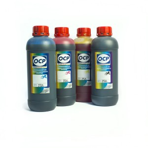 OCP BK 68, C 51, M 49, Y 47 4 штуки 1000 гр. - чернила (краска) для картриджей Canon PIXMA: BCI-6