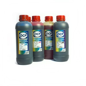 OCP BKP 44, C, M, Y 712 + RSL 5 штук 1000 гр. - чернила (краска) для картриджей Canon PIXMA: PG-510, PG-512, CL-511, CL-513