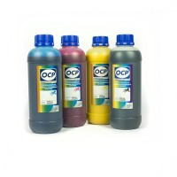 OCP ВКP 203, СP 200, YP 200, MP 200 4 шт. по 1000 грамм - чернила (краска) для принтеров Epson Stylus Pro: 9400