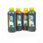 OCP BK 35, C, M, Y 126 (SAFE SET) 4 штуки 1000 гр. - чернила (краска) для картриджей HP: 18, 88