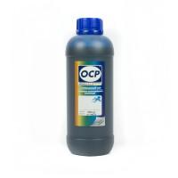 Литровые чернила OCP C 155 Cyan (Голубой) (C13T66424A) для 4-х цветных принтеров Epson L-серии 1000
