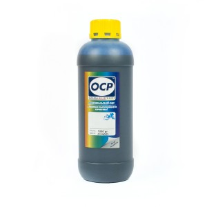 Литровые чернила OCP C 343 Cyan (Голубой) для картриджей HP655 1000 гр.