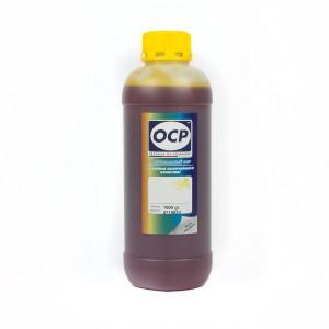 Литровые чернила OCP Y 93 Yellow (Желтый) для картриджей HP177 1000 гр.