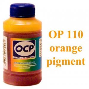 Чернила OCP OP 110 Orange (Оранжевый) 70 гр. для принтеров Epson Stylus Photo R1900, R2000