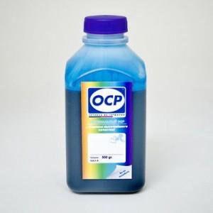 Чернила OCP C13T66424A для четырехцветных принтеров и МФУ Epson L-серии цвета Cyan Голубой 500 грамм