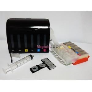 СНПЧ MG6340 – система непрерывной подачи чернил (без чипов) для Canon PIXMA: MG6340, MG7140, MG7540, iP8740