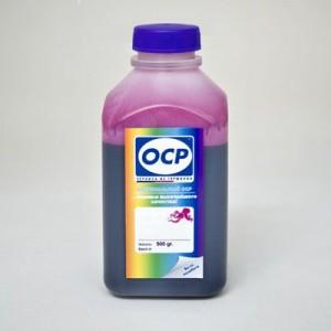Экономичные чернила OCP M 155 цвет Пурпурный для шестицветных принтеров Epson L800, L1800, L805, L810, L815, L850 500 гр.
