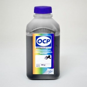 Экономичные чернила OCP BK 73 для шестицветных QuickDry-принтеров Epson Stylus Photo цвет Чёрный 500 гр.