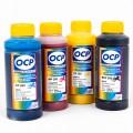 OCP BKP, CP, MP, YP 260 100гр. 4 штуки - чернила (краска) для картриджей HP: 970, 971