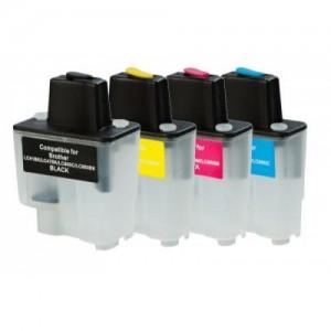 ПЗК DCP-115C – перезаправляемые картриджи для Brother: DCP-115C, DCP-110C, DCP-315CN, DCP-120C, DCP-117C, DCP-310CN, DCP-340CW, FAX-1840C, FAX-1940CN, FAX-2440C