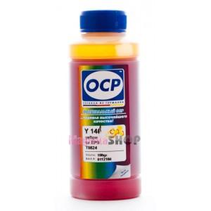 чернила OCP для Epson L800, L1800, L810, L815 и L850 yellow C13T67344A