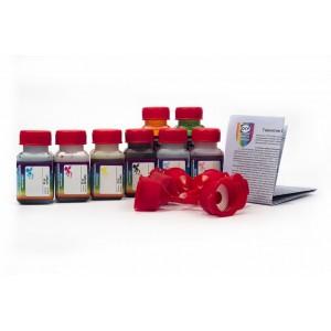 OCP BK 157, BK, C, M, Y 158, BK, CL, ML 159 8 штук по 25 грамм - чернила (краска) для принтеров Canon PIXMA: Pro-100, Pro-100S