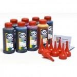 OCP BK 157, BK 158, BK 159, C, M, Y 158, CL, ML 159 100гр. 8 штук - чернила (краска) для принтеров Canon PIXMA: Pro-100, Pro-100S