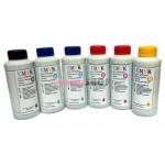 Чернила (краска) CMYK для принтеров Epson: Stylus Photo - 100гр. 6 штук.