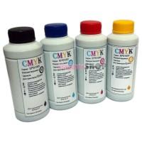 Чернила (краска) CMYK для принтеров Epson: Stylus, WorkForce, WorkForce Pro - 100гр. 4 штуки.