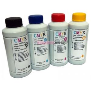 Чернила (краска) CMYK для принтеров Epson: Expression Home - 100гр. 4 штуки.