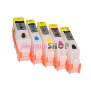 ПЗК HP 178 - перезаправляемые картриджи (без чипов) для HP PhotoSmart: D5463, C6380, CN245C, B109C, C5383, CN255C, B8550, B8553, D5460, D7560, C309A, C5380, C6375, C6383, CD035C, CN216C, CN503C, CQ521C, Q8444C