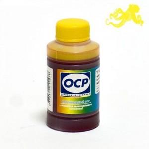Чернила OCP Y 752 Yellow (Жёлтый) 70 гр. для картриджей HP 28, 57, 122, 134, 135, 136