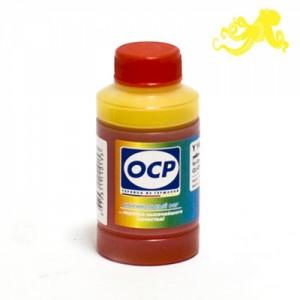 Чернила OCP Y 136 Yellow (Жёлтый) 70 гр. для картриджей Canon PIXMA CL-446