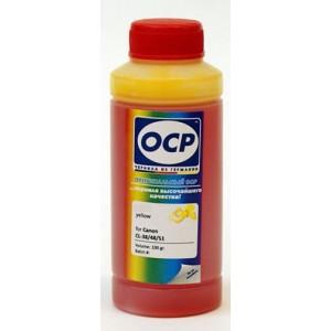 Чернила OCP Y 136 для Canon CL-446 Yellow 100 гр.