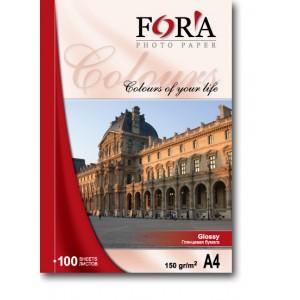 Фотобумага FORA глянцевая формата 10х15 220 г/м? (500 листов)