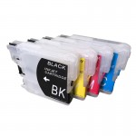 ПЗК DCP-195C – перезаправляемые картриджи для Brother: DCP-195C, DCP-j315W, DCP-385C, DCP-j515W, DCP-375CW