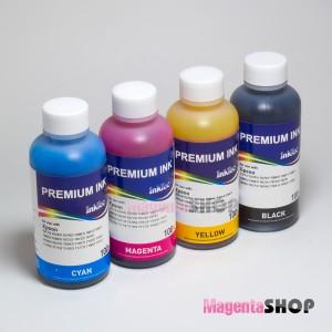 Чернила (краска) InkTec для принтеров Epson: L210, L110, L355, L100, L200, L120, L300, L350, L1300, L456, L550, L555 - 100 гр. 4 штуки.