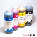 InkTec E0013, E0010 1000гр. 4 штуки – пигментно-водные чернила (краска) для Epson: XP-225, XP-322, XP-422, XP-102, XP-215, XP-325, XP-202, XP-425, XP-312, XP-205, XP-30