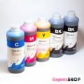 InkTec E0013, E0010 1000гр. 5 штук – пигментно-водные чернила (краска) для Epson: XP-600, XP-610, XP-810, XP-800, XP-700, XP-605, XP-710, XP-820, XP-630, XP-720, XP-615, XP-830, XP-530, XP-624