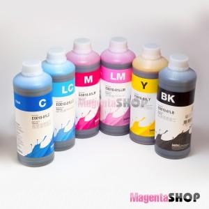 Чернила InkTec E0010 1000гр. 6 штук – для Epson: EP-806AB, EP-807AW, EP-805AR, EP-805A, EP-775AW, EP-805AW, EP-905A, EP-905F, EP-906F, EP-976A3, EP-907F