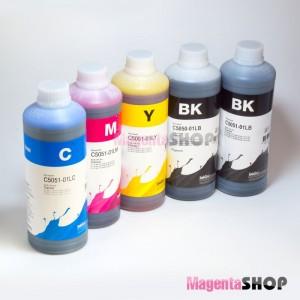 InkTec C5025/C5026 1000гр. 5 штук – пигментно-водные чернила (краска) для Canon: MG5140, MG5340, IP4840, MG5240, IP4940, MG6140, IX6540, MG6240, MG8240, MG8140, MX884