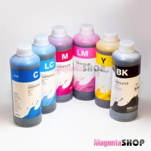 InkTec H3070 1000гр. 6 штук - чернила (краска) для картриджей HP: 177, 363, 801