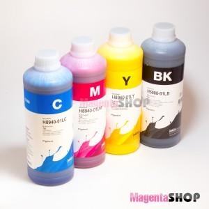 InkTec H5088, H8940 1000гр. 4 штуки - чернила (краска) для картриджей HP: 940, 950, 933, 951, 932, 88
