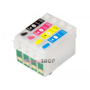 ПЗК NX130 – перезаправляемые картриджи для Epson Stylus: NX130, NX230, NX420, NX127, NX530, NX625, NX125, WF-320, WF-323, WF-325, WF-520
