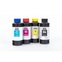 Чернила (краска) Блок Блэк для принтеров Epson: L100, L110, L120, L132, L200, L210, L222, L300, L310, L312, L350, L355, L362, L366, L456, L550, L555, L566, L655, L1300 - 100 гр. 4 штуки.