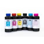 Чернила (краска) Блок Блэк для принтеров Epson InkJet Photo: L800, L1800, L805, L810, L815, L850 - 100 гр. 6 штук.