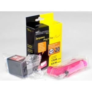 Набор для заправки картриджа HP 178, 920 Magenta принтеров 5510, 3070A, 7000, 4500, B110 и др.
