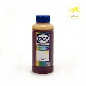 Чернила OCP Y 155 Yellow (Жёлтый) 100 гр. для принтеров Epson InkJet Photo L800, L1800, L805, L810, L815, L850