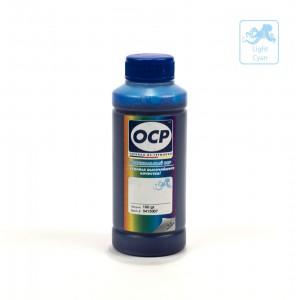 Чернила OCP CL 156 Cyan Light (Светло-Голубой) 100 гр. для принтеров Epson InkJet Photo L800, L1800, L805, L810, L815, L850
