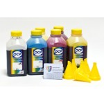 Набор чернил OCP BKP, C, M, Y 9142, BK 9154, BK 9155 (6 цветов по 500 грамм) для картриджей HP 72