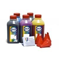OCP BKP 44, BK, C, M, Y 153 5 шт. по 500 грамм - чернила (краска) для картриджей Canon PIXMA: PGI-470, CLI-471
