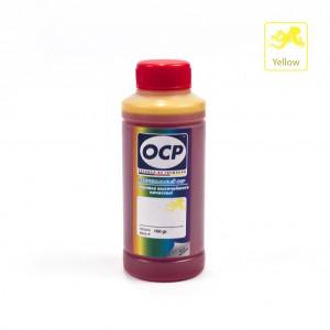 Чернила OCP Y 167 Yellow (Жёлтый) 100 гр. для картриджей Canon PIXMA GI-490Y