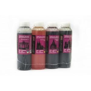 BURSTEN Ink 100гр. 4 штуки - чернила (краска) для принтеров Canon PIXMA, работающих на картриджах со встроенной печатающей головкой.