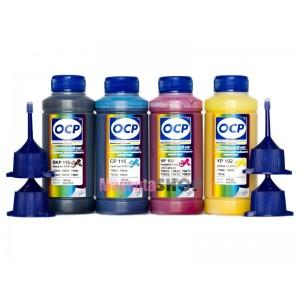 Чернила (краска) OCP для Epson SX130, WF-7015, T26, C91, SX420W, C79, WF-7610DWF - 100 гр. 4 штуки.