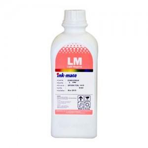 Литровые чернила Ink-mate EIM-290LM для 6-ти цветных принтеров Claria цвет Light Magenta (Светло-Пурпурный) 1000 гр. в оригинальной упаковке