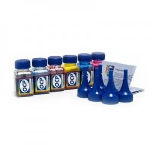 OCP BKP 115, BK 140, C 142, M, Y 140 5 штук по 25 грамм - чернила (краска) для принтеров Epson Expression Premium