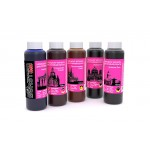 BURSTEN Ink 100гр. 5 штук - чернила (краска) для картриджей Canon PIXMA: PGI-425, PGI-520, CLI-426, CLI-521, PGI-470, CLI-471, PGI-480, CLI-481